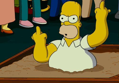 Ultimate Middle Finger Dump
