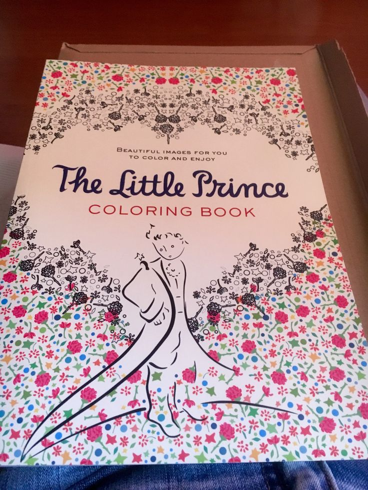 The Little Prince, coloring book.  No es mandala, pero es para colorear. Inspired by Antoine de Saint-Exupéry