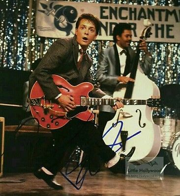 MICHAEL-J-FOX-as-Marty-McFly-in-BTTF-2-8x10-Autographed-RP-lustre-Photo