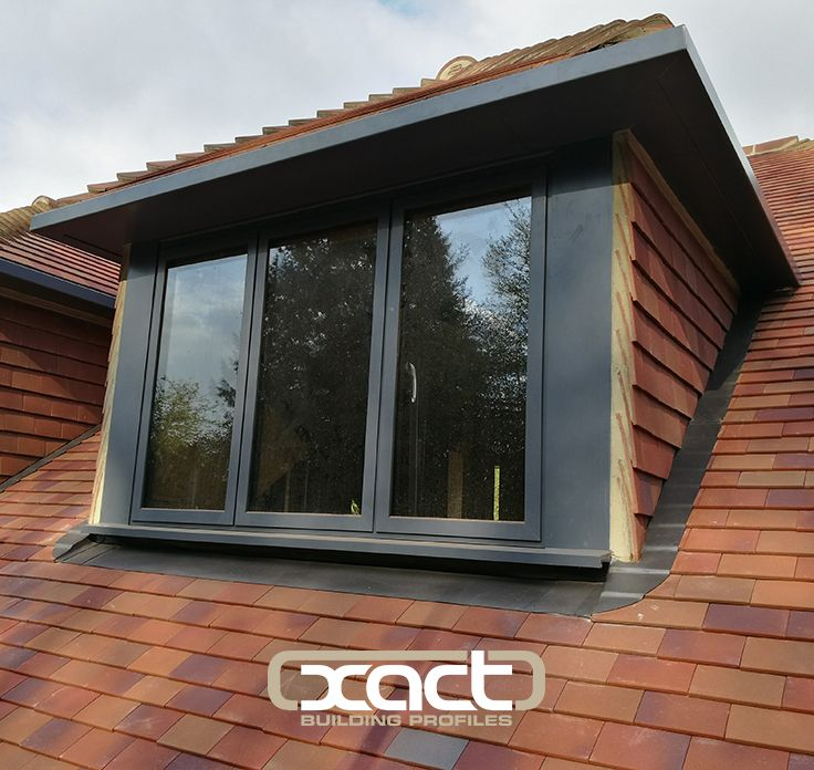 xact contemporary style aluminium windows in ral7015 installed at a new build property in haslemere - Wintergarten Entwirft Irland