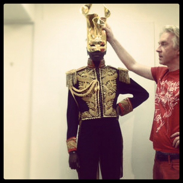 philip treacy makes a collection to honor THE KING.