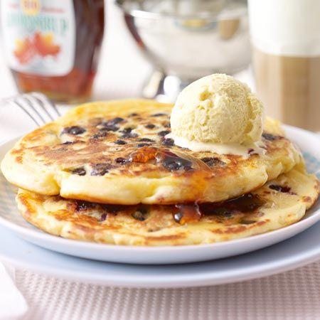 "Schmeckt wie ""Breakfast in America"": Blaubeer-Pancakes"