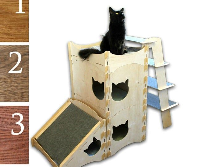 Outdoor Indoor Cat Shelter Cabin Safe House Etsy Cat Shelter Indoor Cat Shelter