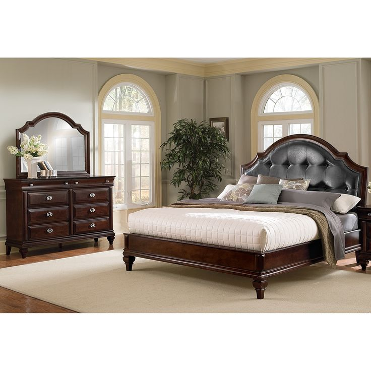 Delightful Bedroom Furniture   Manhattan King Bed