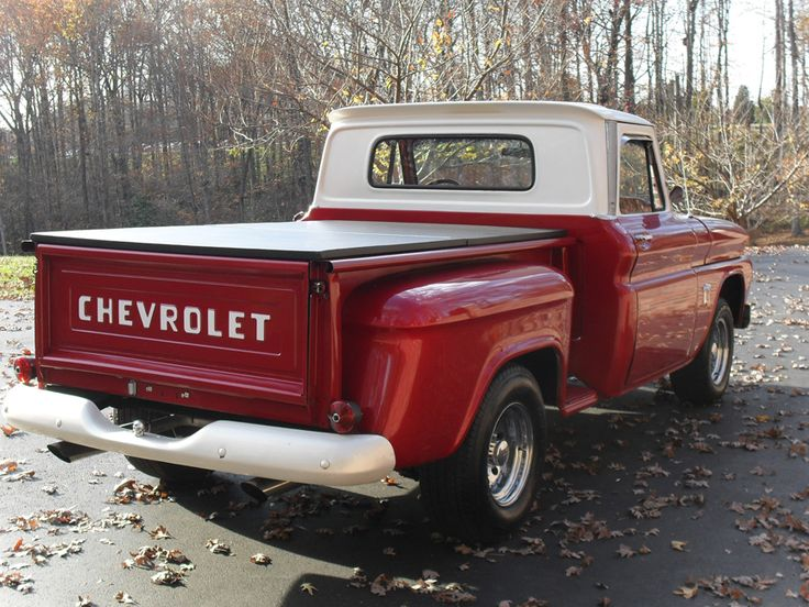 ive always wanted to own an old chevy truck...