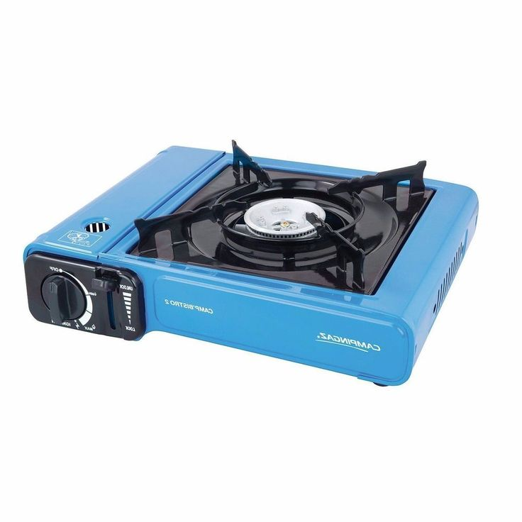 Camping Gas Stove Portable Single Burner Propane Outdoor Picnic Safe
