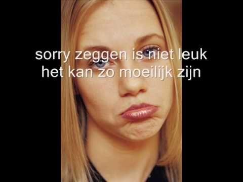 ▶ sorry zeggen - YouTube