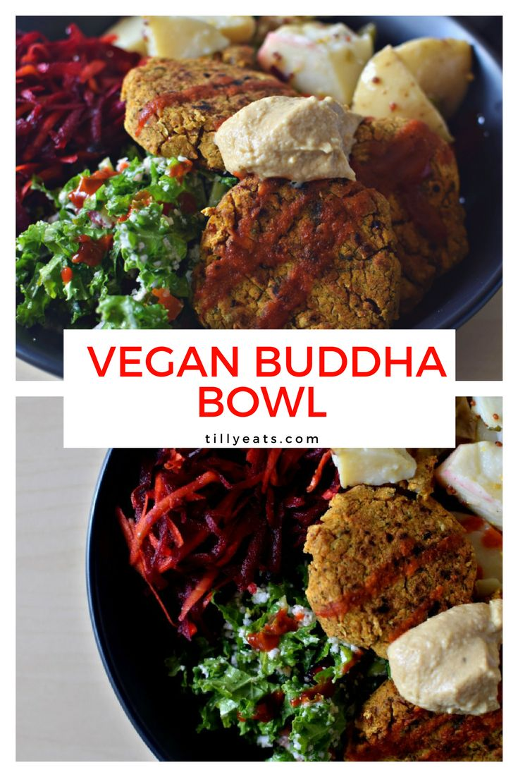 Easy, healthy, tasty and satisfying! This #Vegan Buddha Bowl will have you feeling your best and is perfect for a quick meal.