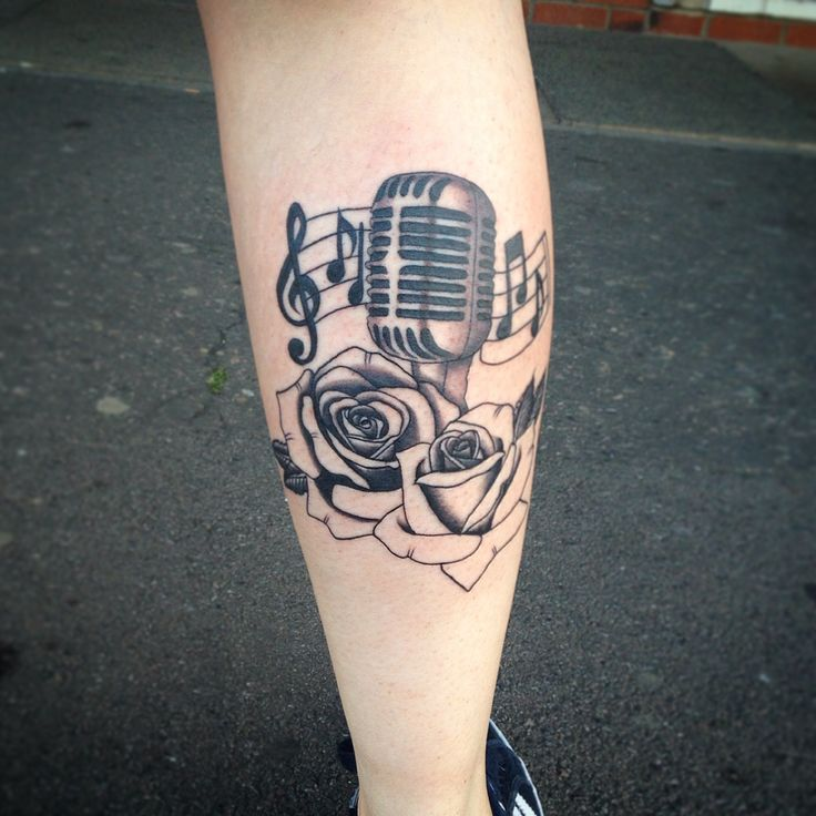 Best 25+ Microphone tattoo ideas on Pinterest | Mic tattoo ... | 736 x 736 jpeg 73kB