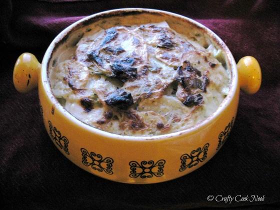... plâit: Creamy Potato and Leek Gratin   Gratin, Potatoes and Magazines