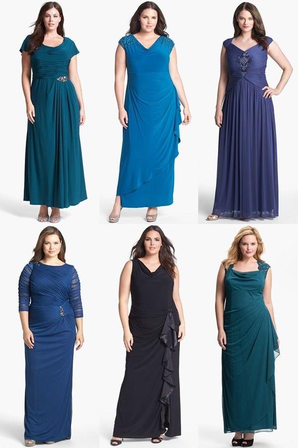 197 best femenine images on pinterest plus size fashion for Big girl dresses for wedding guests