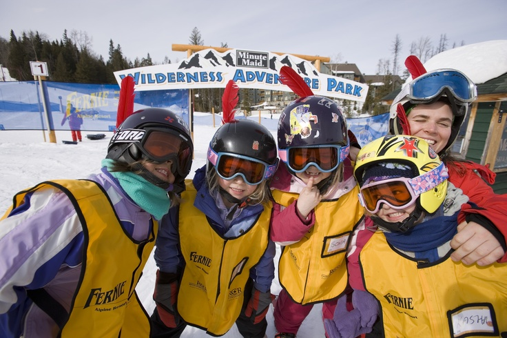 Fernie Alpine Resort is very proud to offer a variety of great weekend club program.  From the Little Rippers (Age 3), the ultimate option for teaching your kids to ski. This package of private lessons is sure to spark a lifelong passion for skiing.    Up to the 'Big Mountain Skiers' (Age 12-17) program for competent big mountain skiers. Designed for developing the skills and style needed to move into the world of competitive freestyle.
