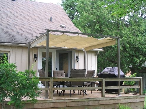 8 Best Images About Backyard Awning Ideas On Pinterest