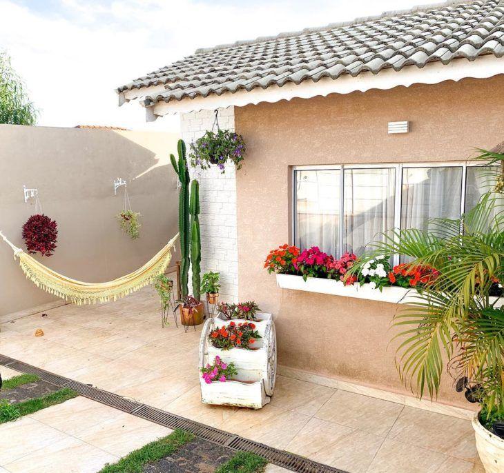 Piso para quintal: veja dicas imperdíveis e 40 modelos para sua casa   Piso  para quintal, Piso para garagem, Casas