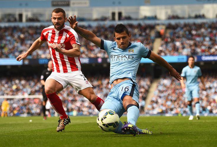 Sergio Aguero - Manchester City v Stoke City 30th August 2014 #MCFC #SCFC #EPL