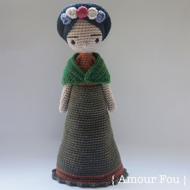 Frida Amigurumi Patron : Images about crochet all kinds of dolls on pinterest