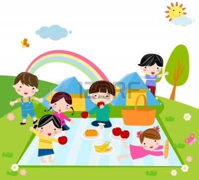 camping clip art | Camping Clipart Children