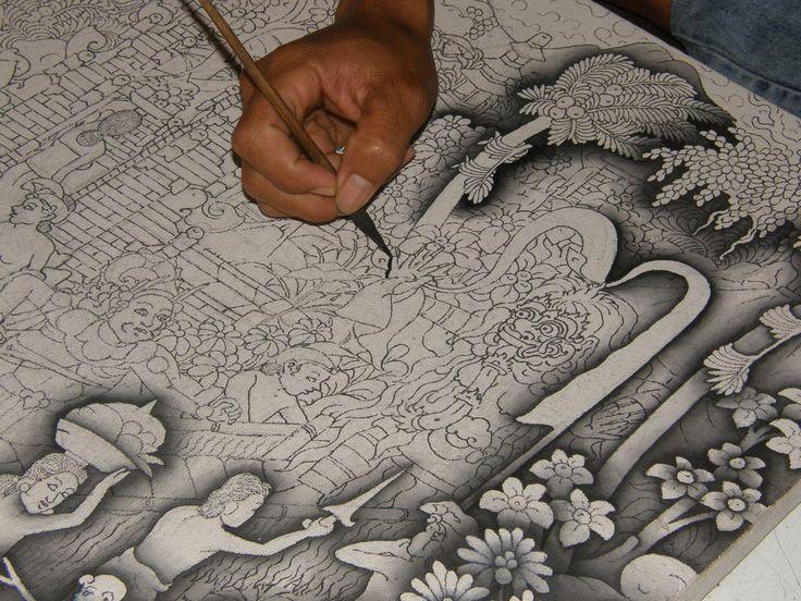 Balinese art by bluegreen-iguana.deviantart.com on @DeviantArt