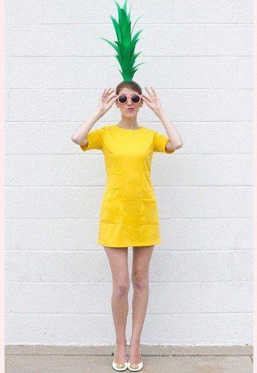 Karnevalskostüme 2016: Witzige Ananas - Karnevalskostüme selber machen: Kostümideen für Karneval 2016 - gofeminin