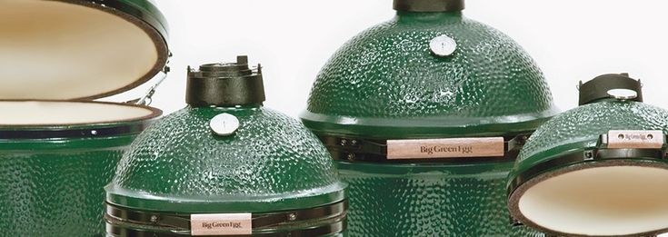 The Big Green Egg - Extremely versatile ceramic-lined BBQ/Smoker that locks in flavor. Also, one of the few non-commercial smokers that makes it simple to regulate temperature.