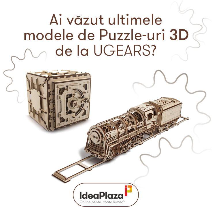 Ai vazut ultimele modele de Puzzle-uri 3D de la Ugears?  https://goo.gl/8kUsWX  #puzzle #puzzle3d #puzzlemecanic #ugears #ideaplaza