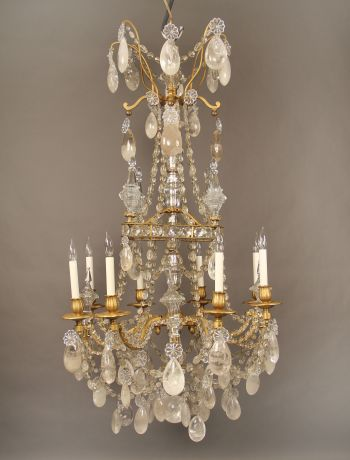 f48218f3f828ccb70297527eb5f6db3b  th century chandeliers 10 Merveilleux Lustre à Pampilles Kjs7