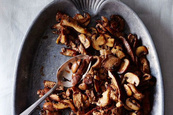 The Genius Secret Ingredient Your Sautéed Mushrooms Are Missing on Food52. (I would have said Sherry, surprise something versatile that is often thrown out! cmd)