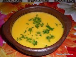 Receta de Deliciosa Sopa de calabaza