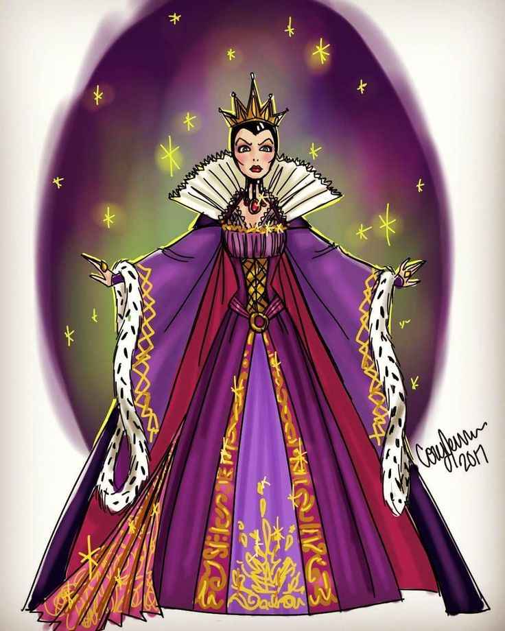 """Who is the fairest of them all?"" Another design doodle. It's been fun of make these and not be too concerned with everything being perfect and just getting my initial ideas down! I thought it might be cool to incorporate designs from the magic mirror on the skirt! ❤ #disney #snowwhite #snowwhiteandthesevendwarfs #evilqueen #queen #fairestofthemall #disneyvillains #villain #paperdollsbycory #fashion #illustration #fashionillustration #fashiondesign #drawing #doodle #sketch #magicmirror"