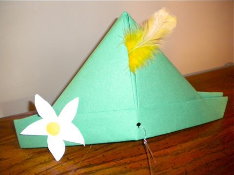 """edelweiss hat craft - For when I am forcing my kids to watch """"The Sound Of Music."""""""