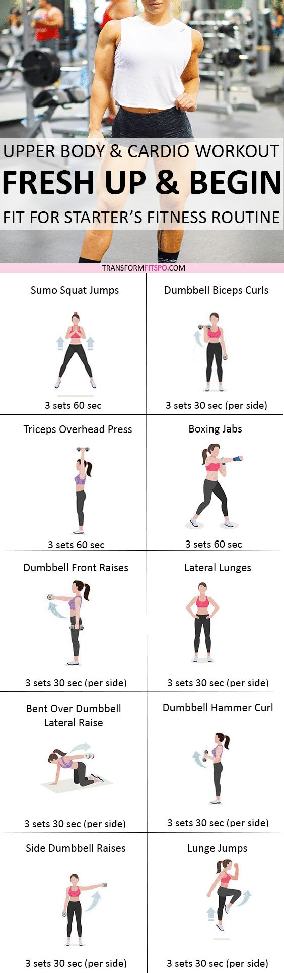 Repin if this workout transformed your body! Read the post for all the info!