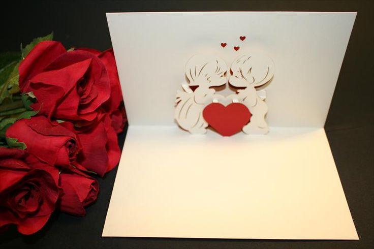 Biglietti di San Valentino pop up - Fotogallery Donnaclick