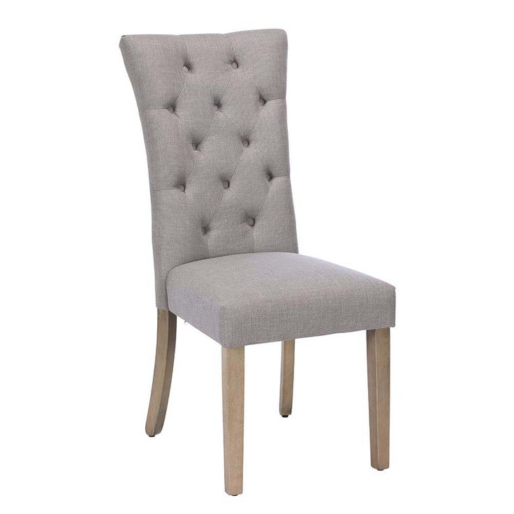 Grey upholstered dining chairs on pinterest sofa side table chairs