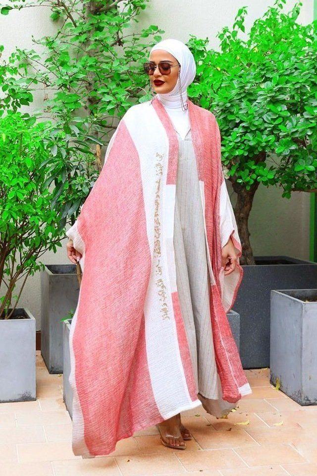 العباية الملونة خيارك الأمثل لإطلالة مميزة في عيد الأضحى Fashion Style Beauty