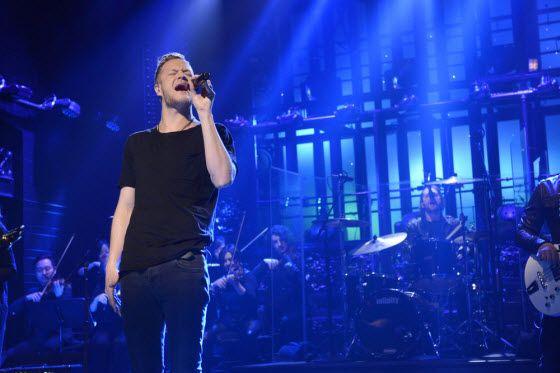 Imagine Dragons and Kendrick Lamar perform Radioactive on Saturday Night Live