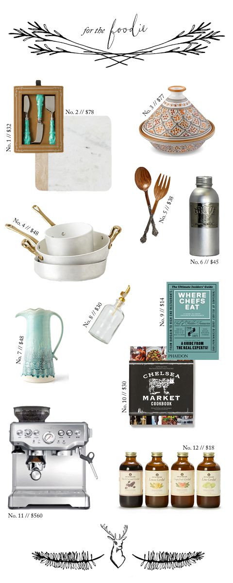 Christmas Gift Guide: For the Foodie | lark&linen