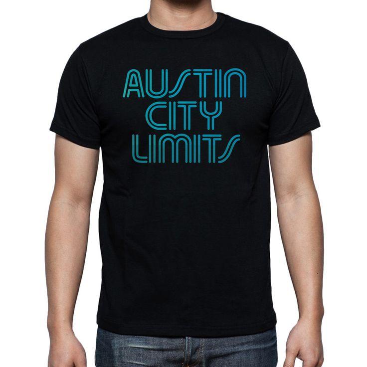 Austin City Limits Black T-Shirt Size S-2XL - T-Shirts