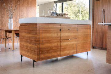 Preston Hollow Modern modern kitchen islands and kitchen carts