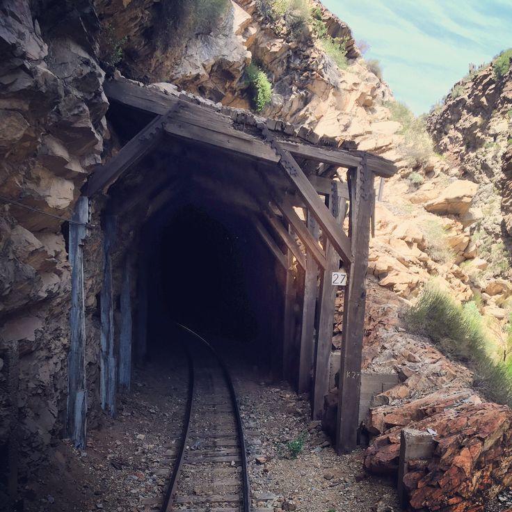 Túnel ferroviario Los Andes