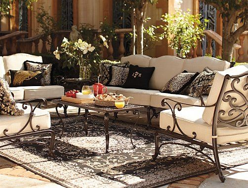 Frontgate Orleans Outdoor Furniture Collection   Patio Furniture Sets