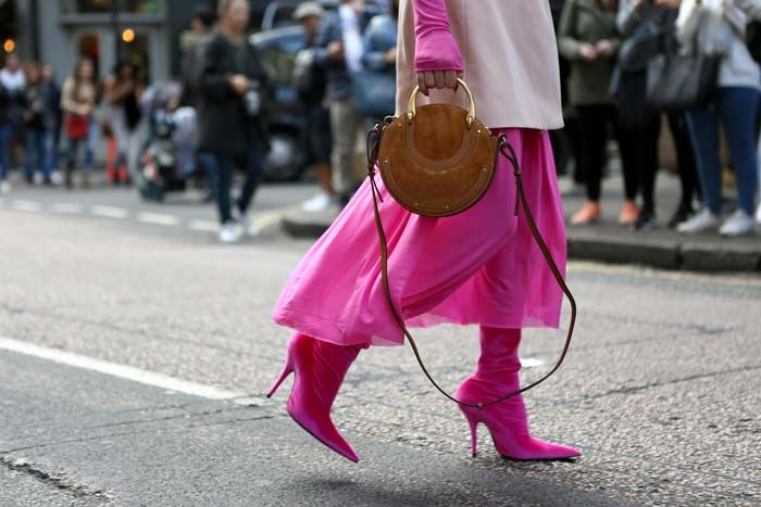 Fashion Week has touched down in London Town. See all the best street styles from across the pond.