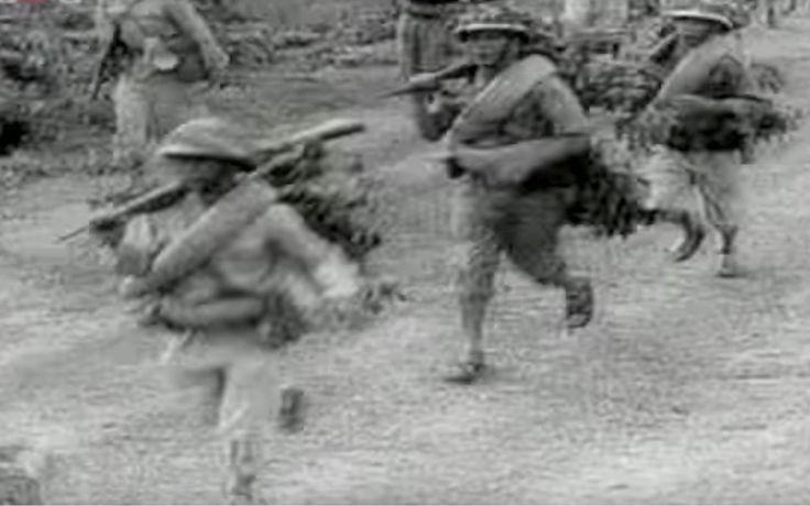 Fantassins Việt Minh.