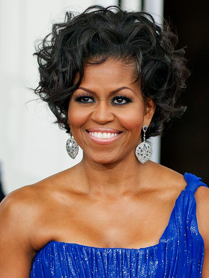 Michelle Obama. An inspiration inside and out.: Lady Michelle, President, First Ladies, Michelle Obama, Beautiful, Hairstyle, Hair Style, Michelleobama