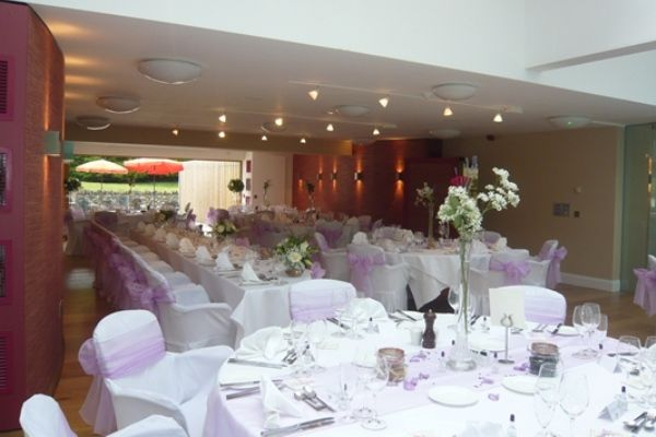 The Windermere Suite with a top table