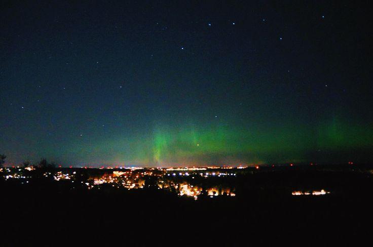 Northen light over Stockholm