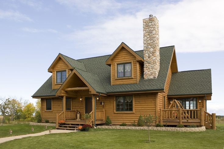 9 best what is a log house style images on pinterest for Log home addition