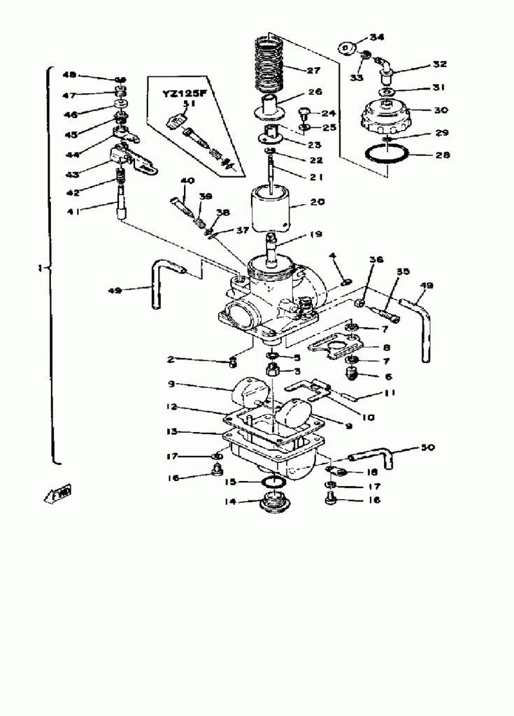 Yamaha Yz 7 Engine Diagram Yamaha Yz 7 Engine Diagram