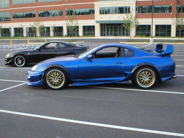 Toyota Supra, still one of the most iconic cars ever made.