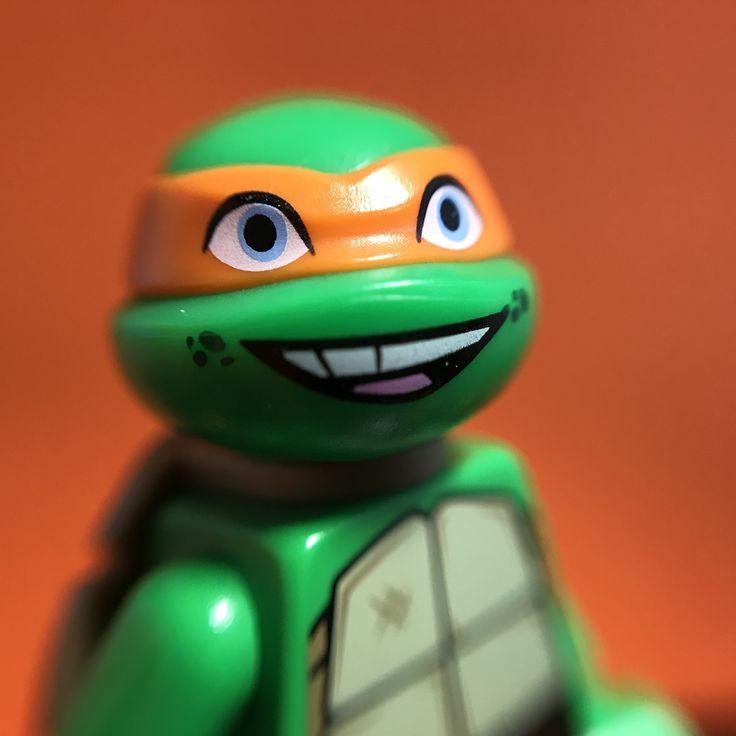 Teenage mutant ninja turtles lego minifigures #minifiguremacros #lego #minifigures #tmnt #teenagemutantninjaturtles