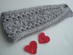 "Knitting Stories by Venera: Вязаная повязка на голову ""Прелестница"" -описание!"